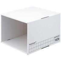 ファイルキューブ A4用 白 3個
