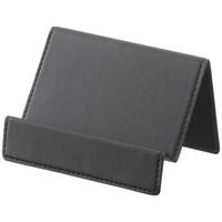 伊藤忠リーテイルリンク カードスタンド 合成皮革 ブラック
