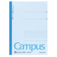 【キャンパスノート】 セミB5 30枚 B罫 青 10冊