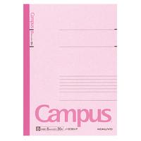 【キャンパスノート】 セミB5 30枚 B罫 ピンク 10冊