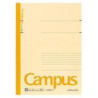 【キャンパスノート】 セミB5 30枚 B罫 黄色 10冊