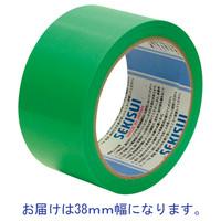 積水化学工業 養生テープ スパットライトテープ No.733 グリーン 幅38mm×長さ25m巻 1巻