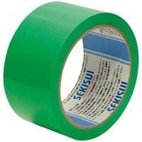 積水化学工業 養生テープ スパットライトテープ No.733 グリーン 幅50mm×長さ25m巻 1巻