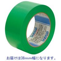 積水化学工業 養生テープ スパットライトテープ No.733 グリーン 幅38mm×長さ50m巻 1巻