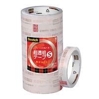 スコッチ 超透明テープS (巻芯径76mm) 18mm幅35m巻 10巻パック BK-18N