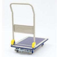 金沢車輌 静音スチール台車 150kg耐荷重 フットブレーキ付 NHT-106S