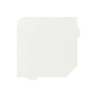 N&T WORKS スチールカルテワゴン用 仕切板 1箱(3枚入)