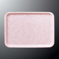 【アウトレット】国際化工 43cm長角トレー ピンク N22