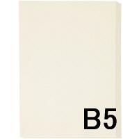 アスクル カラーペーパー B5 アイボリー 1冊(500枚入)
