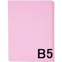 アスクル カラーペーパー B5 ピンク 1冊(500枚入)