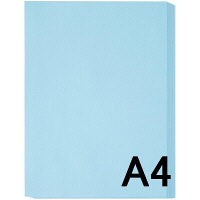 ブルー A4 1冊(100枚入)