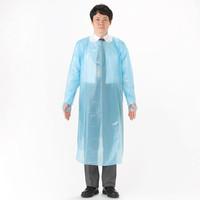 伊藤忠リーテイルリンク 長袖ポリエチレンエプロン PEG-002 1箱(20枚入)