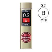 ぺんてる Ain替芯 シュタイン 0.2mm B芯 C272-B
