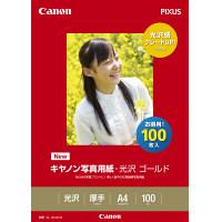 キヤノン 写真用紙 光沢ゴールドA4 GL-101A4100 1冊(100枚入)