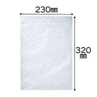 プチプチ袋 フタなし 230mm×320mm 角2封筒用 半透明 1袋(100枚入) 川上産業
