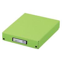 リヒトラブ リクエスト デスクトレー A4 黄緑 G8300 1セット(3個:1個×3)