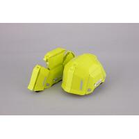 トーヨーセフティー 防災用折りたたみヘルメット ブルーム2 No.101 ライム 1セット(10個)