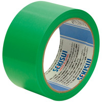 積水化学工業 養生テープ スパットライトテープ No.733 グリーン 幅50mm×長さ25m巻 1セット(5巻:1巻×5)