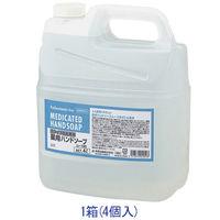 セディア弱酸性薬用泡ハンドソープ 業務用4L 1箱(4個入) フレッシュフローラルの香り【泡タイプ】