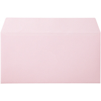ムトウユニパック ナチュラルカラー封筒 長3横型 ピンク 300枚(100枚×3袋)