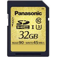 パナソニック SDHCカード 32GB UHS-I/Class10 ( RP-SDUC32GJK )