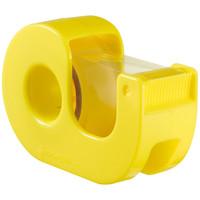 セロテープ カッター付小巻 黄