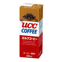 紙パックコーヒー UCC ミルクコーヒー 200ml 1箱(24本入)