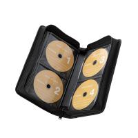 エレコム CD/DVDケース ファスナー付 96枚入 黒 CCD-SS96BK