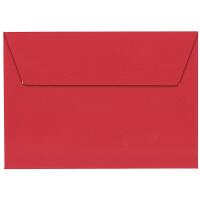 ポレン封筒 洋2 レッド テープ付 100枚(20枚×5袋) クレールフォンテーヌ
