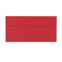 ポレン封筒 A4三つ折 レッド テープ付 100枚(20枚×5袋) クレールフォンテーヌ
