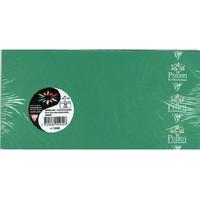 Clairefontaine(クレールフォンテーヌ) Pollen(ポレン) 封筒 A4三つ折りサイズ グリーン cf5595 1セット100枚入 (直送品)