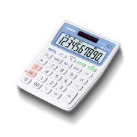 カシオ計算機 CASIO 抗菌電卓 10桁表示 MW-102CL-N 1個