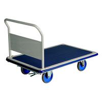 耐荷重スチール台車(ハンドル固定式)ブレーキ付 500kg耐荷重 20140515-002T (直送品)