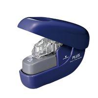 プラス 針なしホッチキスペーパークリンチ SL106N ブルー 31124 1セット(3個)