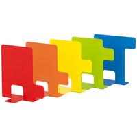 indice(インディチェ)ブックエンド 5色 RFBS-JP 1セット(3組・1組×3)