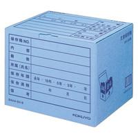コクヨ 文書保存箱(フォルダー用) B4/A4用 ブルー B4A4-BX-B 1袋(10枚入)