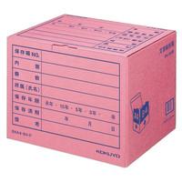 コクヨ 文書保存箱(フォルダー用) B4/A4用 ピンク B4A4-BX-P 1セット(40枚)