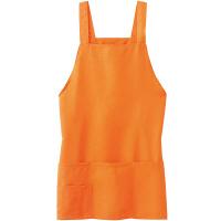 ファーストレイト ショートエプロン オレンジ フリーサイズ FR-801