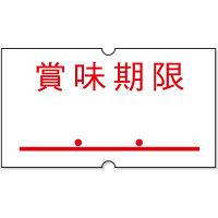 「現場のチカラ」サトー ハンドラベラー用パンチラベル 「賞味期限」 1箱(20巻入)