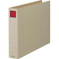 キングジム 保存ファイル(片開き) A3ヨコ とじ厚50mm 背幅65mm 赤 5305E 1箱(10冊入)