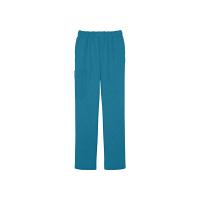 ミズノ ユナイト ニットスクラブパンツ(男女兼用) ターコイズブルー SS MZ-0085 医療白衣 1枚 (取寄品)