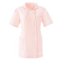 AITOZ(アイトス) スクエアネックチュニック(ナースジャケット) 医療白衣 半袖 ピンク L 861365-060