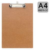 アール・エフ・ヤマカワ MDFクリップボード A4タテ コーティングなし RFCP-NCA4 1箱(100枚)