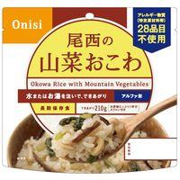 尾西食品 アルファ米山菜おこわ 1パック(3食) 401SE