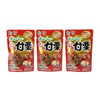 岡三食品 おいしいむき甘栗 50g 3袋