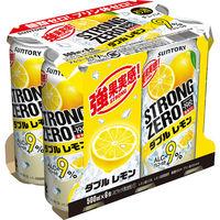 ストロングゼロ Wレモン500ml×6