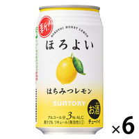 ほろよいはちみつレモン 350ml 6缶