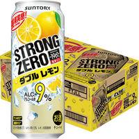 ストロングゼロ Wレモン500ml 24