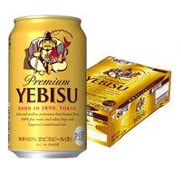 サッポロ エビスビール 350ml 1箱(24缶入)