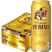サッポロエビスビール 500ml 24缶